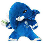 ICC - 17 Inch Plush Official ICC Mascot, blue