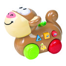 Mitashi SkyKidz Happy Go Lucky Pet Musical Toy-Monkey,  brown