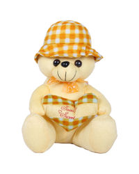 Joy Fancy Teddy, yellow