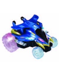 Mitashi Dash Rechargeable R/C Nutter Spinner Car, multicolor