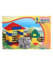 Peacock Kinder Blocks - Jumbo My Friend, Multicolor