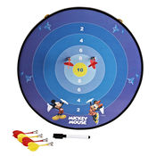 Disney Mickey Funny Multi-Function Magnetic Dartboard (Including 3 Darts),  blue