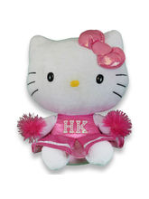 TY Hello KitTY Cheer Leader, Pink