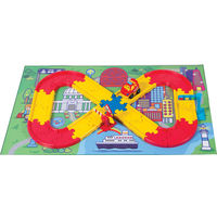 Winfun Racing Car and Stop N Go Track Set (Multicolor), multicolor