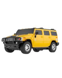 Mitashi Dash 1: 16 RC Rechargeable Hummer Car,  yellow