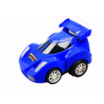 Mitashi Dash Rechargeable R/C Programmable Stunt Car,  blue