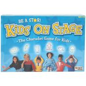 University Kids on Stage-The Charades Game for Kids Board Game, multicolor