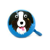 Stop To Shop Bike Bell Dog,  blue