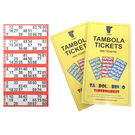 Tambola Tickets With Red Border,  red