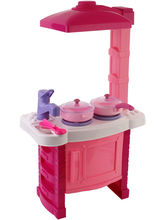 Saffire Pink Kitchen Set, pink