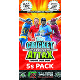 Topps ICC T20 Cricket Attax Multipack of 5 Flow packs