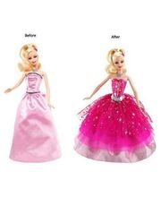 Barbie Feat Act Dl - Dress & Design Doll,...