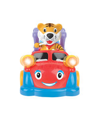 Mitashi SkyKidz Carnival Kart Musical Toy - Tiger, multicolor