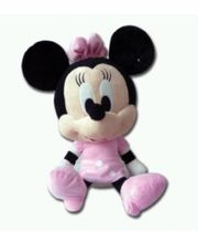 Disney Plush Toys Minnie Big Head Soft Boa 8Inch...