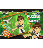 Ben10 Puzzle Game (Multicolor)