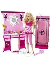 Barbie Pink bathroom set