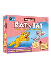 Mad Rat Games Rat-a-Tat Spot The Difference Puzzle, Multicolor