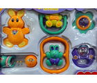 Aesthetichs Rattle Set-RS, multicolor