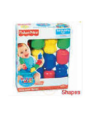 Fisher Price Snap Lock Beads(shapes) -71055