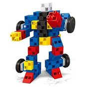 Saffire 2 in 1 DIY Robot Block Set, multicolor