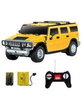 Shopcros R/C Rechargeable 1: 24 Hummer H2 Suv, Yel...