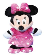 Disney Soft Toy Minnie Flopsie New 10, Multicolor