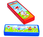 Buddyz Doraemon 2D Pencil Box - Red for Kids, multicolor