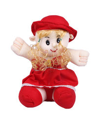 Joy Baby Doll, red