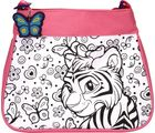 Wild Republic Diy Purse Pink Tiger/Giraffe - TWTW21567, multicolor