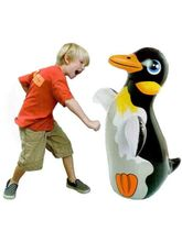 Intex 3D Bop Bags-Penguin 36'' (Multicolor)