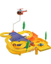 Adaraxx Track Racer for Kids, yellow