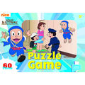 Ninja Hattori Puzzle Game (Multicolor)