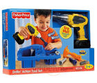 Fisher Price Drillin Action Tool Set - R9698 (Multicolor)