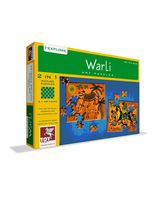 Toy Kraft Warli Art Puzzle - 2 In 1, Multicolor