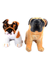 Deals India Imported Stuffed Dog Combo Of 2, Multi...
