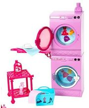 Barbie Glam Laundry Room - TWTW19208, multicolor