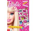 Barbie Race To The Party Game (Multicolor)