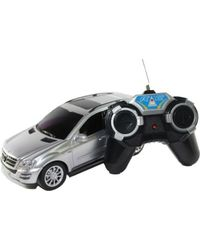 Shopcros R/C Rechargeable Mercedes-Benz Car, silver