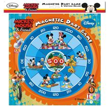 Itoys Metallic Dart & Writing Board Mickey Mouse & Friends, multicolour