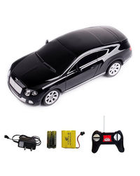 Shopcros R/C Rechargeable 1: 24 Bentley Continental,  black
