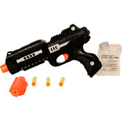 Saffire Gun with Jelly Shots and Soft Foam Bullets, multicolor