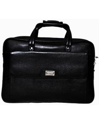 Bag Jack Eridanus Leather Office Bag, black