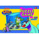 Oggy Cockroaches Puzzle Game
