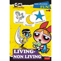 Cartoon Network Living-Non Living (Multicolor)