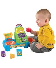 Fisher Price Laugh & Learn Magic Scan Market - TWTW16459, Multicolor