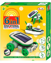 6-In-1 Educational Hybrid Solar Kit (Multicolor)