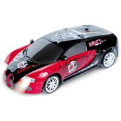 Saffire Remote Control Porsche Carrera Gt Graffiti Drift Car With Spare Tires, multicolor
