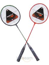 Badminton Set Of 2 Rackets