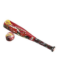 Disney Cars Baseball Set (One Bat And One Ball),  red