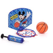 Disney Mickey Basketball Board Set,  blue